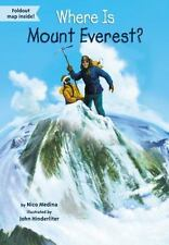 Where Is?: Where Is Mount Everest? by Nico Medina and Who HQ (2015, Paperback)
