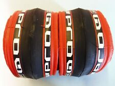 Two - Michelin Pro 4 Race ( Red. 700 - 23) tyres / NOS
