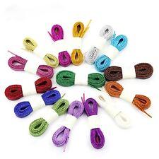 Lacci Scarpe Lurex Stringhe Glitter, Shoe laces Metallic 14 Colori
