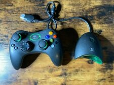 Logitech Silver Wireless Xbox Controller With Receiver! Tested!