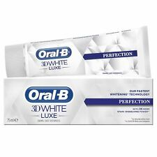 Oral-B 3D White Luxe Perfection Mint Toothpaste Whitening Enamel Protect - 75ml