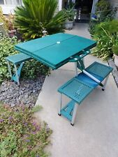 Custom Made Picnic Table & Benches Set, Yard, Deck, Patio Furniture