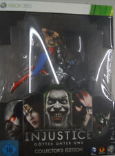 Injustice -Götter Unter Uns,Limited Collectors Edition mit Figur XBOX360,NEU&OVP