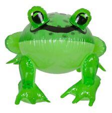Aufblasbarer Frosch, transparent grün, Wassertier als Wasserspielzeug