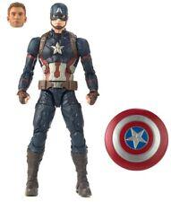 Marvel Legends Marvel Studios First Ten Years Captain America New Loose Figure