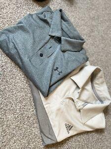 mens golf polo shirts large