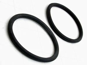 Porsche 356 B C Front Turn Signal Lens Seal (x2 seals) new OEM lamp gasket