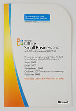 Office 2007 Small Business SBE MLK V2 OEM Vollversion Englisch 9QA-01757