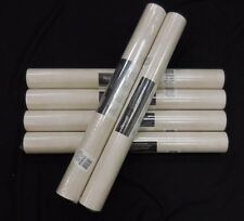 Faux Wallpaper White Satin #Ch28255 (Lot of 6 Double Rolls)