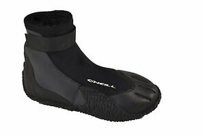 O'Neill JRS HEAT 300T 3MM Round Toe Black Youth Water Surf Boots