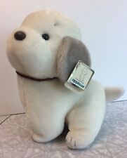 1983 Applause Wallace Berrie Plush White Dog Coco Large 3925 Tags