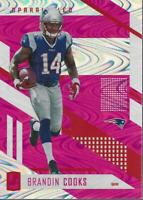 2017 Panini Unparalleled Pink Football Card Pick