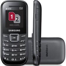 Brand New Samsung GT-E1207Y **Dual Sim** Keystone 2 Black (Unlocked) Cheap BASIC