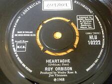 """ROY ORBISON - HEARTACHE    7"""" VINYL"""
