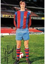 Barcelona FC & Holanda Johan Cruyff dijo firmado leyenda del fútbol (impreso) A4