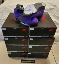 Nike Air Jordan 5 Alternate Grape Retro Men Sizes 11 / 12.5 / 13 / 15 IN HAND