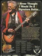 Mountain Masters of War Leslie West Signature Series Dean guitar 8 x 11 ad print