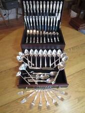 GEORG JENSEN*ACANTHUS*STERLING SILVER*FLATWARE*SET*SERVICE 12+RARE SERVERS*EXCL*