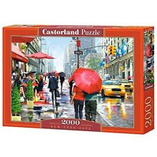 Castorland Jigsaw 2000pc -new York Cafe - New Caf Puzzle 2000piece Multicolour