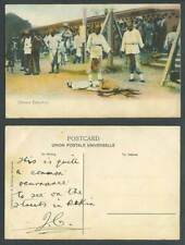 Hong Kong China Old Colour Postcard Chinese Public Execution Ground, Horse Rider
