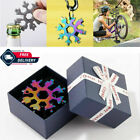 18 in 1 Stainless Multi-tool Snowflake Keychain Wrench Screwdriver with Gift Box