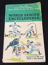 1961 BASEBALL WORLD SERIES ENCYCLOPEDIA BOOK 1903-1960 MEL ALLEN WILLARD MULLIN