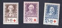FINLANDE  N °: 180/182  - SUOMI RED CROSS -NEWS  - year 1935-  CV : 7 €
