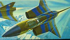 Revell Kit H-131, SAAB J-35 DRAGON, 1/72, STRATEGIC AIRPOWER SERIES, MIB, 1968