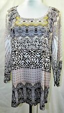 NEW STYLE & CO WOMEN PLUS 1X 2X 3X EMBELLISHED TEE T SHIRT TOP BLOUSE GOLD ROSE