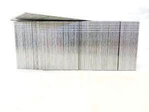 "18 Gauge Galvanized Straight Finish Brad Nail 2 "" 5,000/box fits most brands"