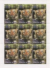 CHINESE HOROSCOPE YEAR OF THE TIGER WILD ANIMAL NIGER 1998 MNH STAMP SHEETLET