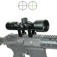 """WLT 3-9x40 Hunting / Tactical Rifle Scope Mil-dot illuminated - Compact 7.5"""""""