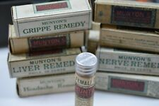 munyon`s 25c home cure bottles never opened ( our choice )
