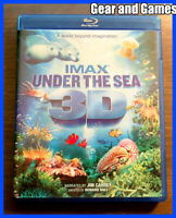 IMAX Under the Sea (Blu-ray 3D Disc, 2010,)