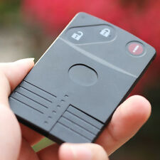 Mazda Miata 5 6 CX7 CX9 Smart Keycard Keyless Remote Card Key Case 3 Button Fob