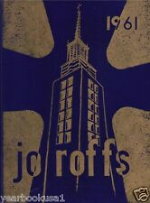 St. John Fisher College Rochester New York 1961 Jo Roffs Yearbook Annual