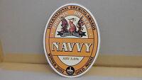 Pheonix Brewery Navvy Ale Beer Pump Clip 63