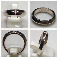ESPRIT Ring 925er Silber Silberschmuck Silberring mit einem Stein 57 (18,1 mm Ø)