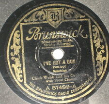78rpm/81499/CHICK WEBB and Orch./I`VE GOT A GUY/CONGO