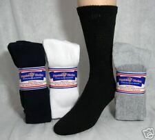 Mens Diabetic Socks Assorted Colors Size 10-13, 12 PR