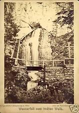 Germany photo cc.1890 Waterfall Weib