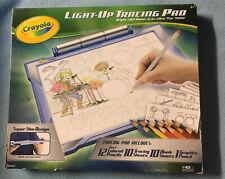 Crayola Light-up Tracing Pad Coloring Board - Blue