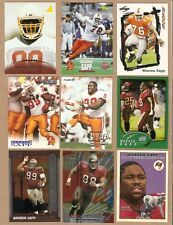 WARREN SAPP 14  DIFFERENT FOOTBALL CARDS NM
