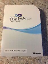 Microsoft Visual Studio 2010 PROFESSIONAL VERSIONE COMPLETA INGLESE con IVA FATTURA