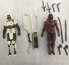 gi joe classified Storm Shadow and Red Ninja
