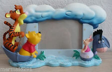 WINNIE THE POOH, TIGGER, EEYORE, & PIGLET 3D PICTURE FRAME/FIGURINE-BLUSTERY DAY