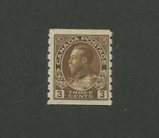 Canada 1918 King George V Admiral Issue 3c Stamp #129 CV $42