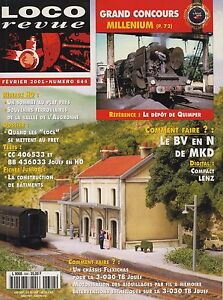 Loco Review 644 Of 2001. Replace The Chassis of The 030 Very Good Jouef