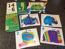 flash cards math Game Addition Subtraction Homeschool Matching Monster preschool