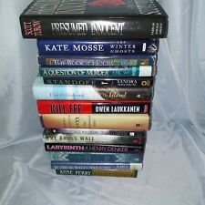 Lot Of 14 Assorted Hardcover Novels/Books